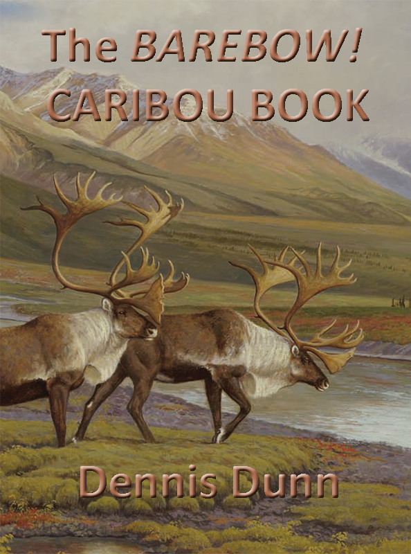 Caribou Book (Cover) by Dennis Dunn