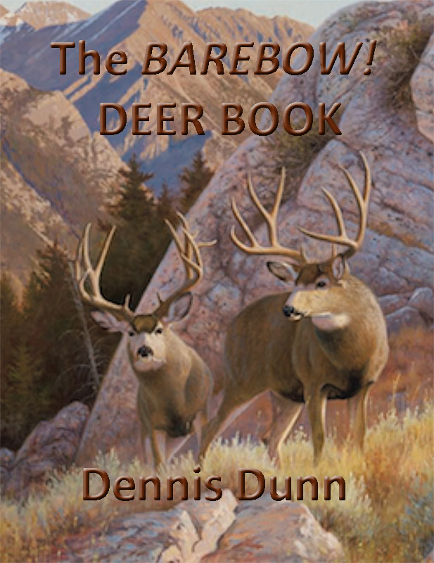 Deer Book (Cover) by Dennis Dunn