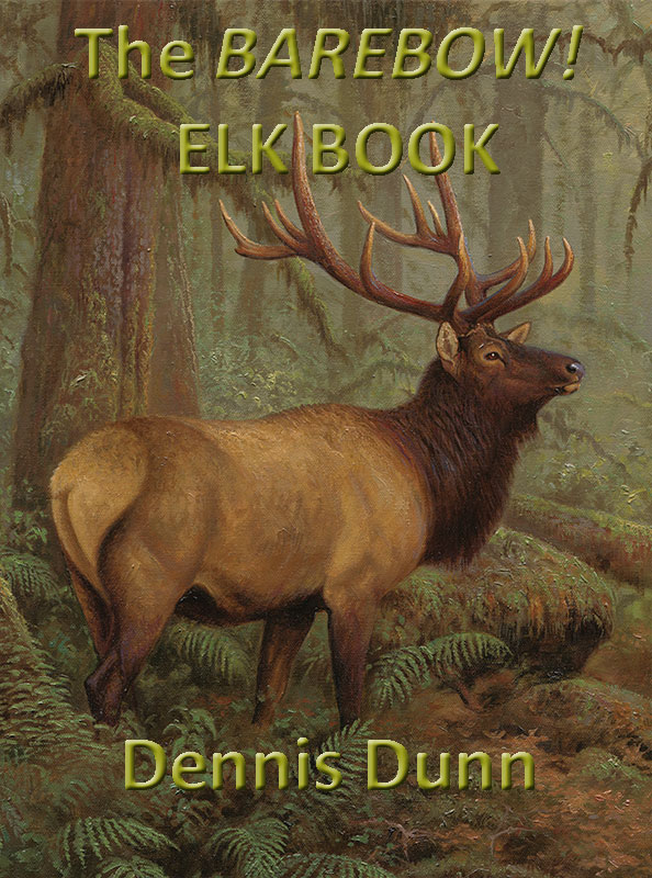 Elk Book (Cover) by Dennis Dunn